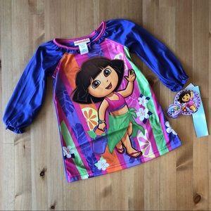 Nickelodeon Dora the Explorer Purple Nightgown